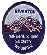 Riverton Mineral and Gem Society logo